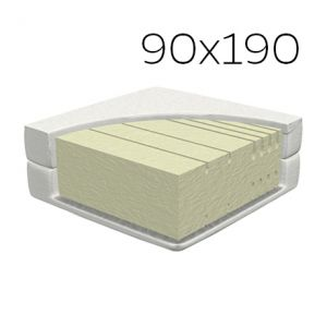 MADRAS 5 ZONE KOMFORTSKUM 90 X 190 CM